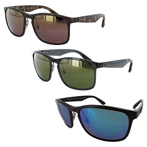 1492a4e7d79bd1 Ray-Ban RB4264 Chromance Lens Square Sunglasses