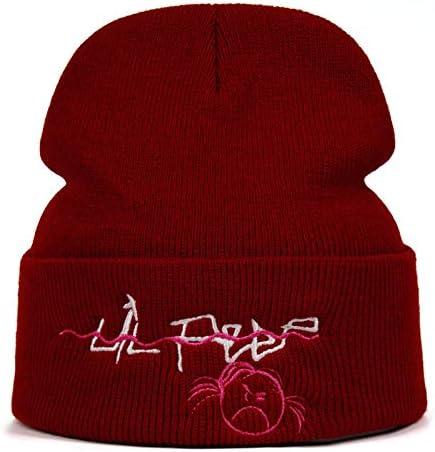 Bonnet Hommes Broderie Chapeau Frais Coton Bonnet Slouch Calotte Longue Baggy Hip-Hop