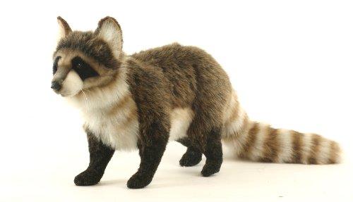Hansa Standing Raccoon Plush