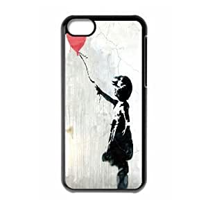 James-Bagg Phone case Bansky Girl Protective Case For Iphone 5c Style-13