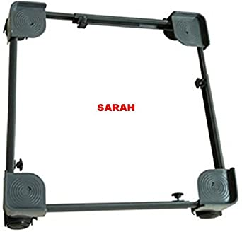SARAH Semi/Fully Automatic Adjustable Dual Top Loading Washing Machine Trolley   107
