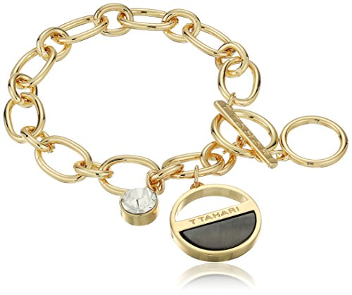 t-tahari-gold-shell-and-crystal-charm-bracelet