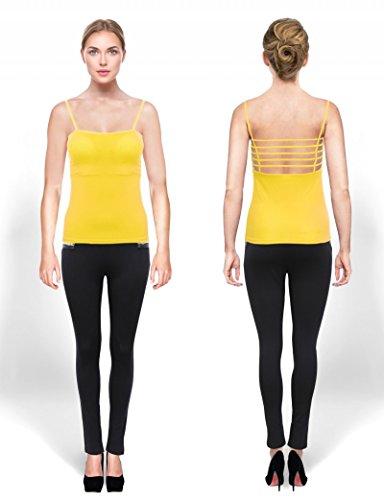 Ma Coquette - Camiseta - ajustado - para mujer amarillo