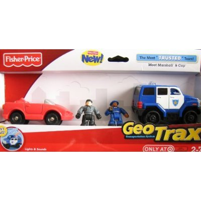 - Geotrax The Most Trusted Team/Meet Marshall & Cap/Geotrax Lights & Sounds