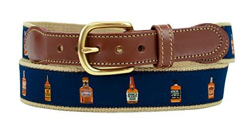 Leather Man Ltd Whiskey Bottles Belt (34)