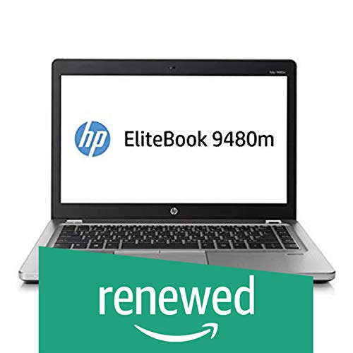 "(Renewed) HP EliteBook Folio 9470M Laptop (Core i5 3rd Gen/4GB/500GB/WEBCAM/14""/DOS)"