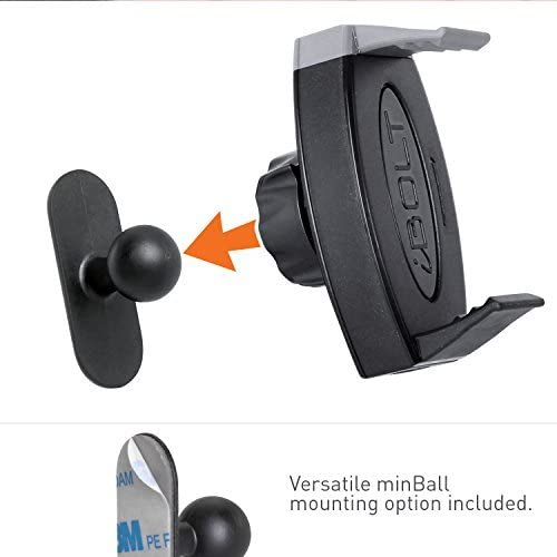 Works will ALL iBOLT Car docks and Garmin GPS Devices 4351664168 iBOLT miniBall mount and Vent mount for iBOLT Car docks