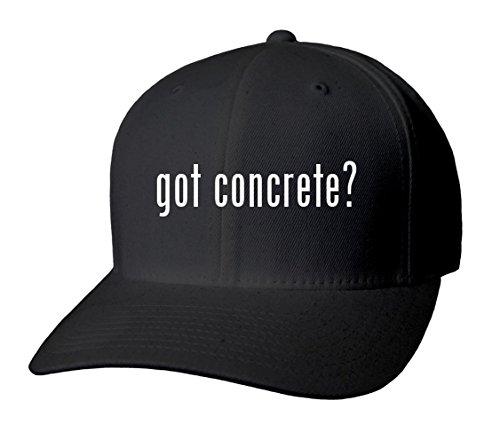 got concrete? Adult Men's Hat Baseball Cap - Various sizes & colors!, Black, Small/Medium