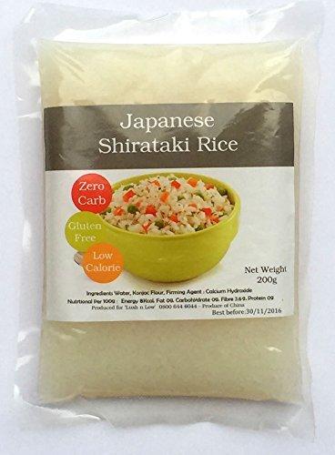 Shirataki Rice (Zero Carb) - 200g