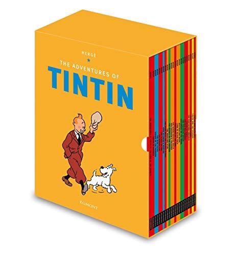 Box Set Collectors Tin - Tintin Paperback Boxed Set 23 titles