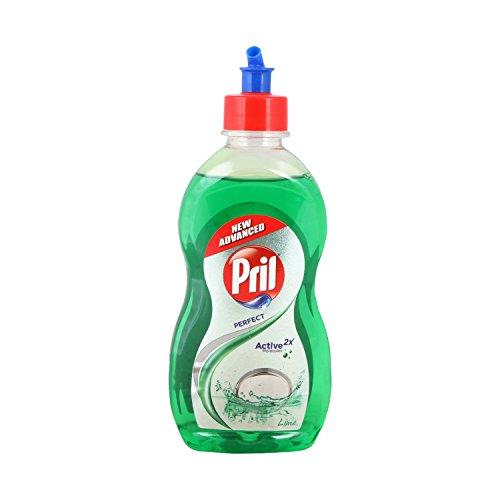 Pril Dishwash Liquid - Lime, 425ml Bottle ()