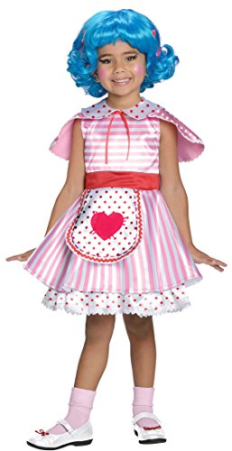 [Big Girls' Lalaloopsy Deluxe Rosy Bumps N' Bruises Costume Toddler] (Lalaloopsy Adult Costumes)