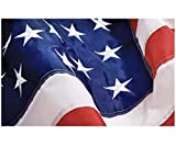 Grace Alley American Flag: American Made 3x5 FT US Flag Made in USA - Embroidered Stars and Sewn Stripes. This American Flag Meets US Flag Code.