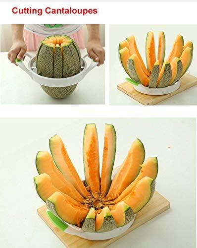 Watermelon Slicer Large Stainless Steel Fruit Cutter Kitchen Utensils Gadgets Large Melon Slicer by NEX (Image #5)