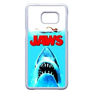 Plastic Durable Cover Dgite Samsung Galaxy Note 5 Edge Cell Phone Case White Jaws Unique Phone Cases
