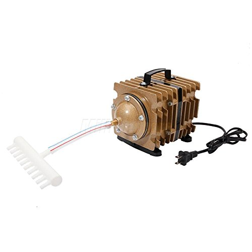 Generic ir Pump 14 Pond 6-Hole Elect Aquarium Hydroponic Aq O2 Commercial Air H 6-Ho Pump 1427GPH ial Air Pu 6-Hole Electric-Magnetic cial Ai by Generic