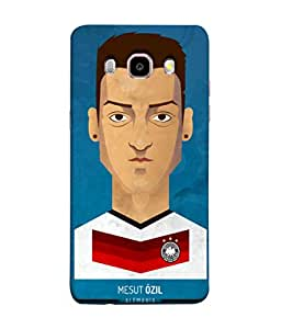 ColorKing Football Ozil Germany 01 Blue shell case cover for Samsung J5 2016