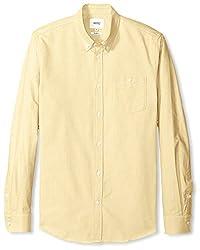WeSC Men's Oden Sport Shirt, White, XXL