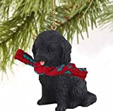 1 X Cockapoo Black Original Ornament