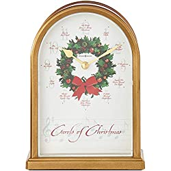 Howard Miller 645-424 Carols of Christmas II Table Clock by