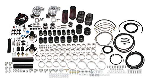 Holley STS2000T Turbo Remote Mounted Twin Turbo System w/Tuner & Fuel Injectors for 06-13 Chevrolet Corvette Z06
