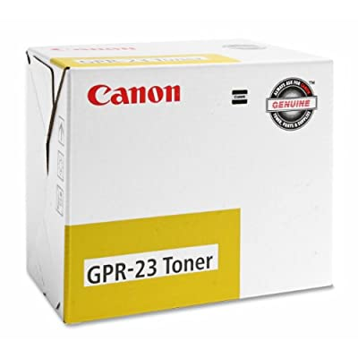 Canon 0455B003AA Copier toner for canon imagerunner, gpr-23, yellow