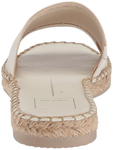 Dolce Vita Kvinna Bobbi Slide Sandal Benvitt Läder