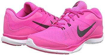 Nike Womens Flex Trainer 5 Running Shoe, Pink Powanthracitepink Foilwhite - 10 B(m) Us 4