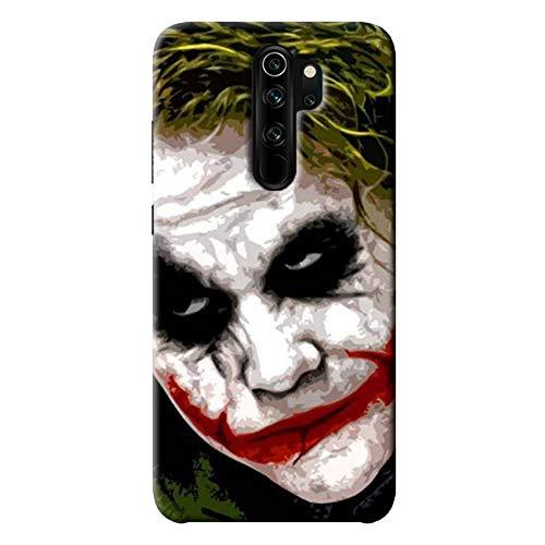 NDCOM® Joker Printed Hard Mobile Back Cover Case for Xiaomi Redmi Note 8 Pro