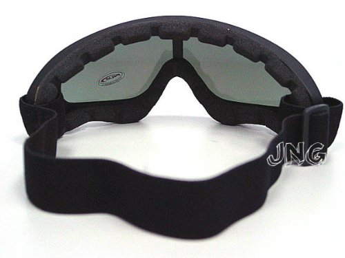 2-in-1-Protection-Steel-Mesh-Face-Mask-with-X400-UV-Safety-Goggles-Airsoft-Paintball-Black