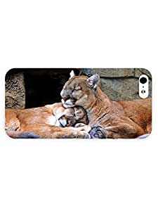 3d Full Wrap Case for iPhone 5/5s Animal Cougars79 by mcsharks