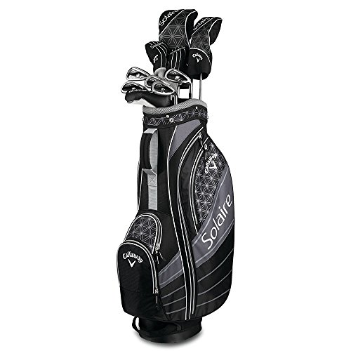 Callaway Golf 2018 Solaire Package Set, 11 Piece, Black, Right Hand, Petite