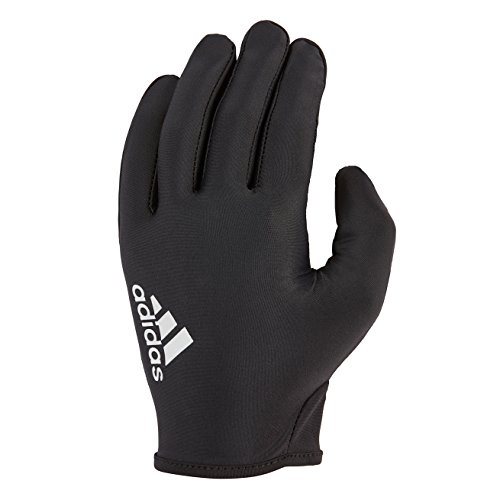 adidas Full Finger Essential Glove - Grey/Black, Small ()