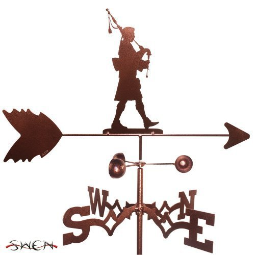 SCOTTISH BAG PIPE PLAYER BAGPIPER GARDEN Stake Weathervane ~NEW~ by SWEN Products by SWEN Products