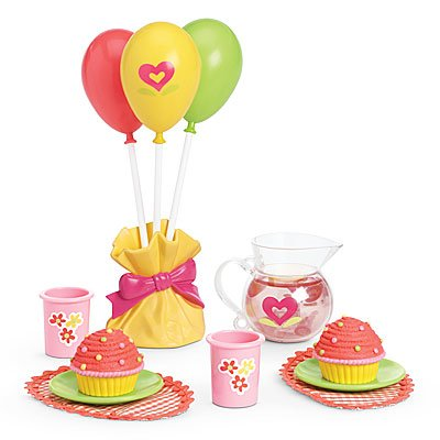 American Girl Bitty Twin Birthday Party Set by American Girl