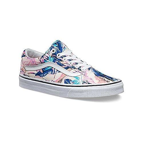 3438254ddb Vans Unisex Old Skool Tropical Skate Shoe-Tropical Multi-6-Women 4.5 ...