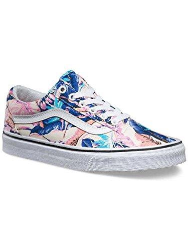 61f5ca3bbc Vans Unisex Old Skool Tropical Skate Shoe-Tropical Multi-6-Women