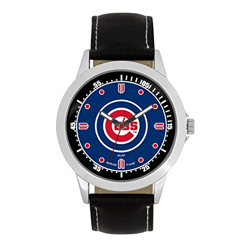 Game Time MLB- Chicago Cubs Player Series Watch, Black, 44.00mm (Best Chicago Cubs Players Of All Time)