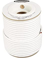 AmazonBasics Speaker Wire - 14-Gauge, 99.9% Oxygen-Free Copper, 100 Feet