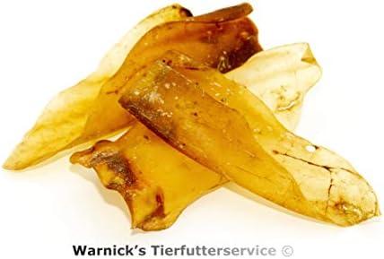 Rinderohren - Medium - ohne Muscheln von Warnick´s Tierfutterservice