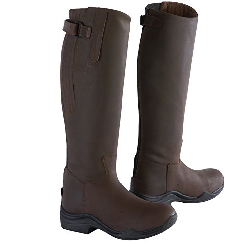 Toggi - Botas de equitación para hombre marrón - marrón