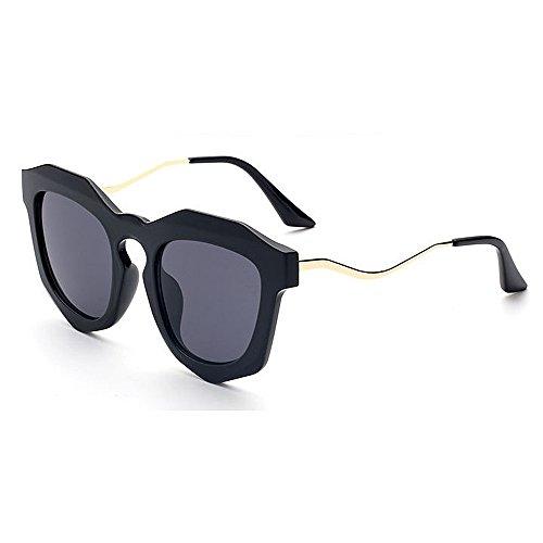 C1 Aire UV la para Protección de Sol al de de Señora Viaje de Peggy Gu Libre Conducción Color Mujeres C5 Lente de Personalidad Irregular Lentes la Color xYR8qFA