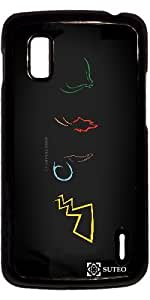 Carcasa para Google Nexus 4 – Pokemon XV Aniversario - ref 809