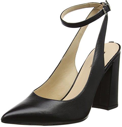 Guess Bray - Zapatos de vestir de Piel para mujer negro