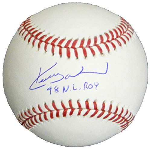 (Kerry Wood Autographed Signed Rawlings Official Major League Baseball Baseball w/98 NL ROY - Certified Signature)