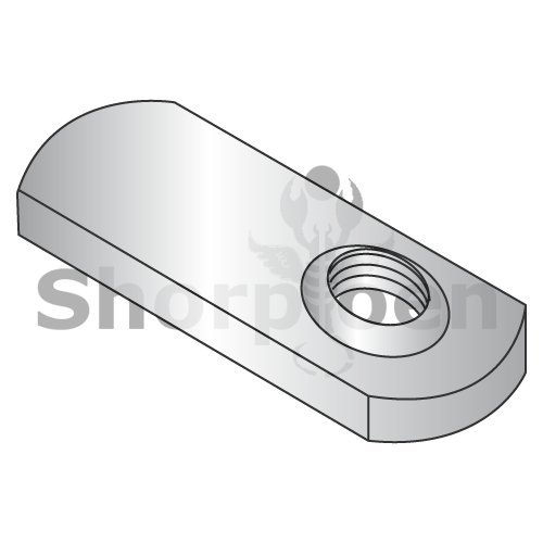 weight20Lbs Weld Nuts with 1.125 Tab Base 18-8 Stainless Steel 5//16-24 Box of 1000