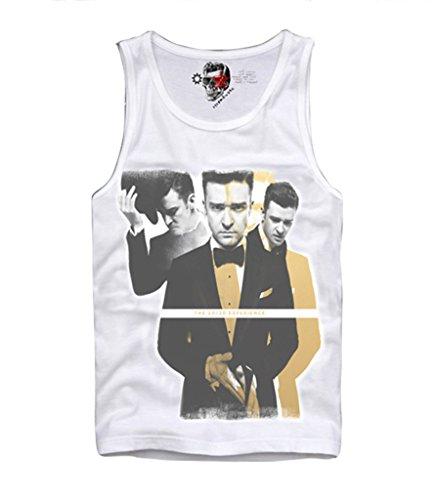 E1SYNDICATE MENS TANK T-SHIRT JUSTIN TIMBERLAKE TOUR CONCERT - Justin Timberlake Clothes