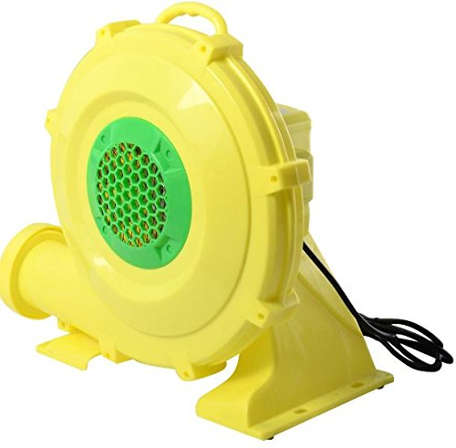 K&A Company 680 W 1.0 HP Air Blower Pump Fan for Inflatable Bounce House New Play 110 V-120 V AC 680 W