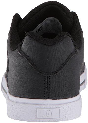 SE TX DC Sneaker Women's Black Black White Chelsea nTqxwgxZ8S