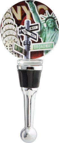 LSArts Wine Bottle Stopper, NYC (Wine Gifts Nyc)